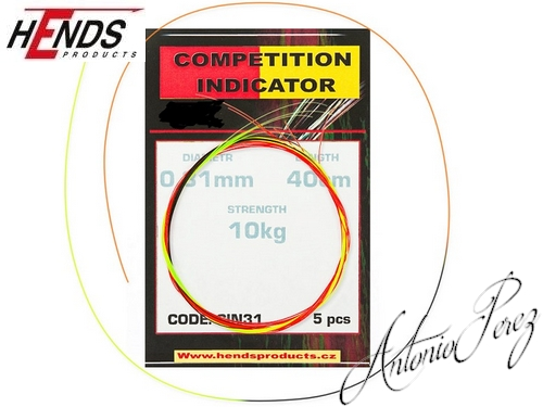 Indicateurs Compétition HENDS 0,31mm / 10kg