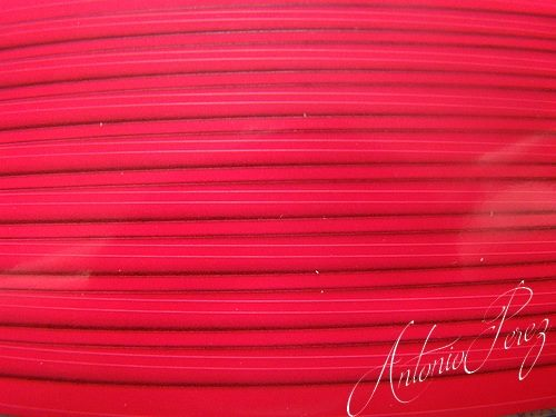 Synthetic Tapered Quill Rose Fluo Autocollant