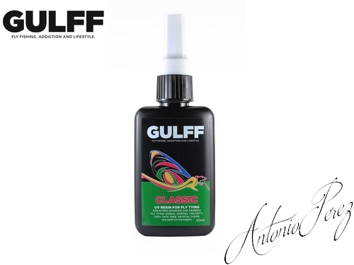Résine UV  GULFF Transparent 50ml