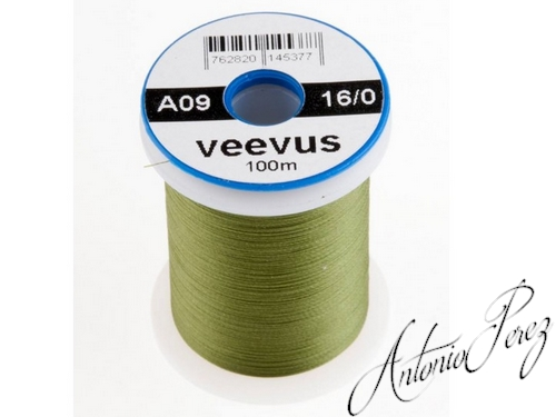 Veevus 16/0 - 0,04mm - A09 Olive