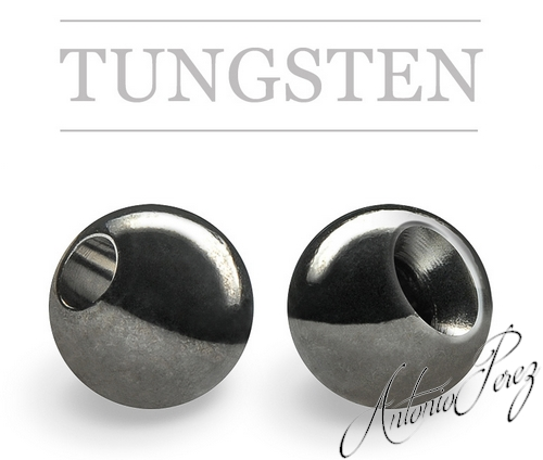 25 Billes Tungsten Noir Nickel