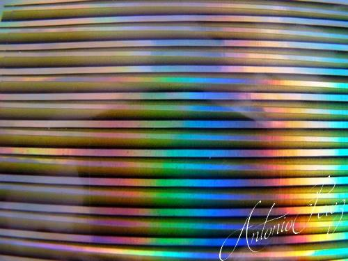 Synthetic Tapered Quill Holographic Vert Autocollant