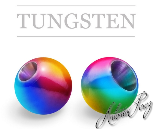 25 Billes Tungsten Arc En Ciel