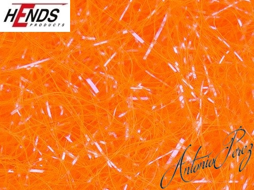 Dubbing UV Ice HENDS Orange Fluo Foncé