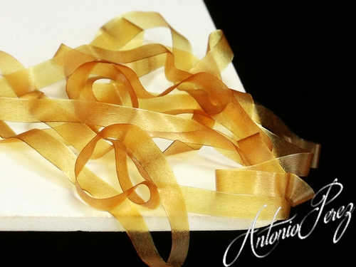 Fine Stretch 4mm Cannelle Jaune