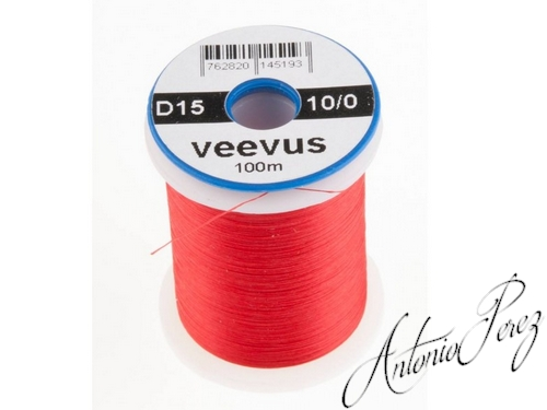 Veevus 10/0 - 0,07mm - D15 Rouge