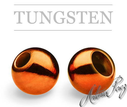 25 Billes Tungsten Orange