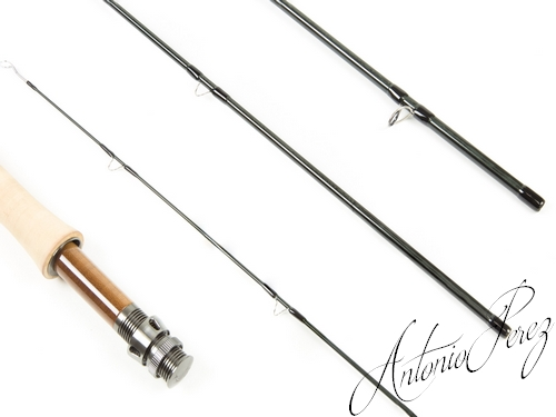 Loomis Asquith Fly Rod ASQ 490-4 (9' #4)-Antonio PEREZ