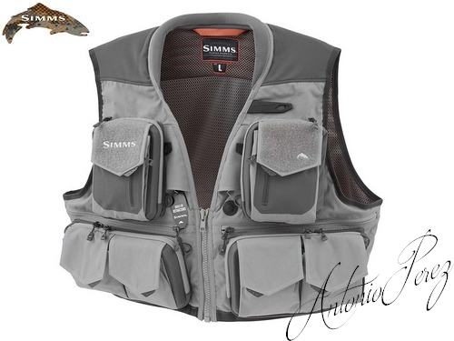 Gilet Mouche Simms G3 Guide Steel