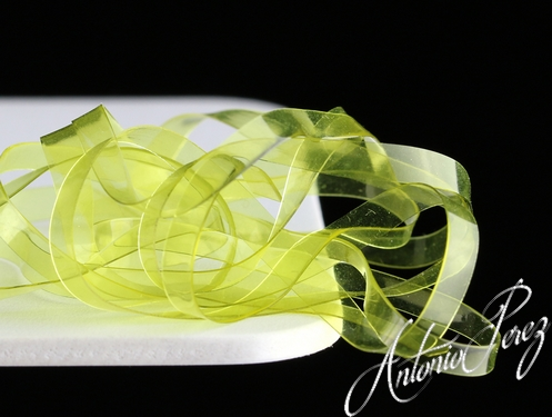 Flat Body Glass Chartreuse