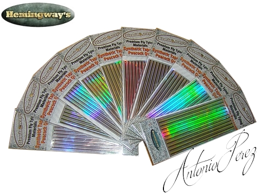 Synthetic Tapered Quill Holographic PACK MIX Autocollant