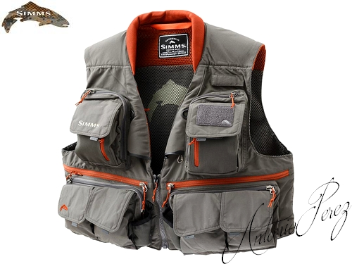 Gilet Mouche Simms Guide Vest Greystone