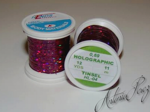 Holographic Tinsel Hends