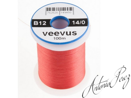 Veevus 14/0 - 0,05mm - B12 Rouge Clair