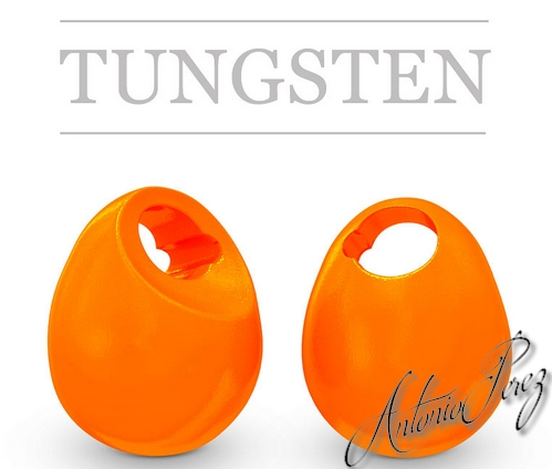 10 Jig Off Tungstène Orange 2,8mm