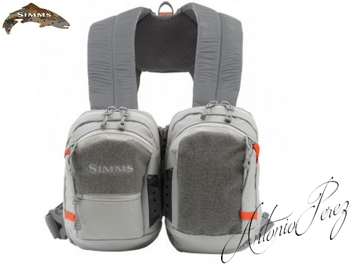 Chest Pack SIMMS Waypoints Dual  Gunmetal
