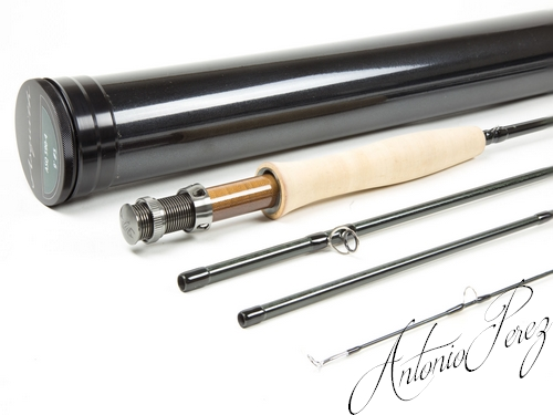 Loomis Asquith Fly Rod ASQ 490-4 (9' #5)-Antonio PEREZ
