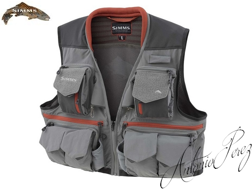 Gilet Mouche Simms Guide Steel