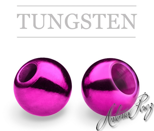 25 Billes Tungsten Violet